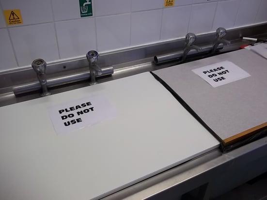 unused sink